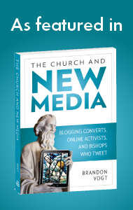 I'm also humbled to be featured in 'The Church and New Media.'